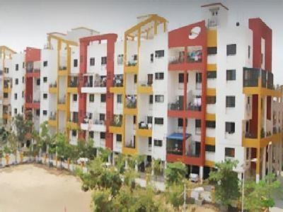 1010 sqft, 2 bhk Apartment in Anshul Shree Hans Garden Dhanori, Pune at Rs. 14000
