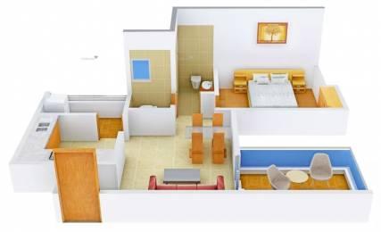 635 sqft, 1 bhk Apartment in Shriram L Square Lohegaon, Pune at Rs. 11000