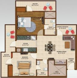 1125 sqft, 2 bhk Apartment in Ace Aspire Techzone 4, Greater Noida at Rs. 8500