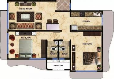 950 sqft, 2 bhk Apartment in Maitree Avalon Paradise Malad West, Mumbai at Rs. 42000