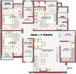 1680 sqft, 3 bhk Apartment in Goel Heights Matiyari, Lucknow at Rs. 12000