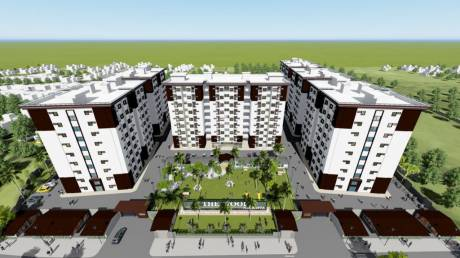 797 sqft, 2 bhk Apartment in Builder Touchwood Infraventures The Woods NAUBASTA Lucknow Faizabad Deva Bypass Road, Lucknow at Rs. 21.1205 Lacs