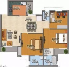 1525 sqft, 2 bhk Apartment in MI Rustle Court Gomti Nagar, Lucknow at Rs. 75.0000 Lacs