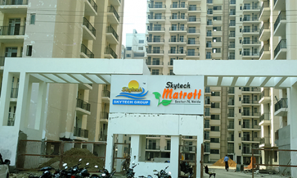 1150 sqft, 2 bhk Apartment in Skytech Matrott Sector 76, Noida at Rs. 63.2500 Lacs