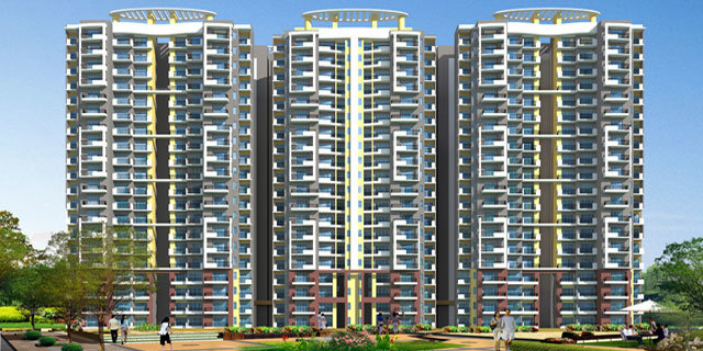 985 sqft, 2 bhk Apartment in The Antriksh Golf View II Phase I Sector 78, Noida at Rs. 47.2800 Lacs