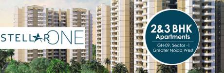 1132 sqft, 2 bhk Apartment in Stellar One Sector 1 Noida Extension, Greater Noida at Rs. 40.0000 Lacs