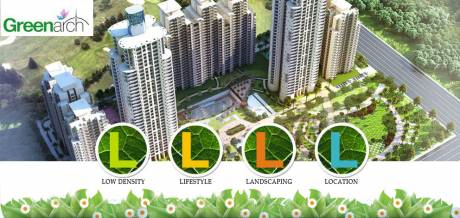 1160 sqft, 3 bhk Apartment in Saviour Green Arch Techzone 4, Greater Noida at Rs. 41.7600 Lacs