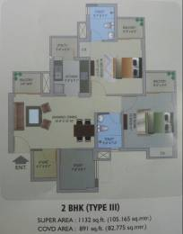 1132 sqft, 2 bhk Apartment in Stellar One Sector 1 Noida Extension, Greater Noida at Rs. 42.0000 Lacs