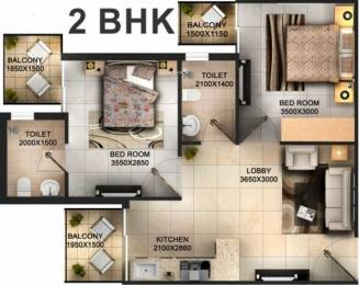 585 sqft, 2 bhk Apartment in Tulsiani Easy in Homes Sector 35 Sohna, Gurgaon at Rs. 23.0000 Lacs