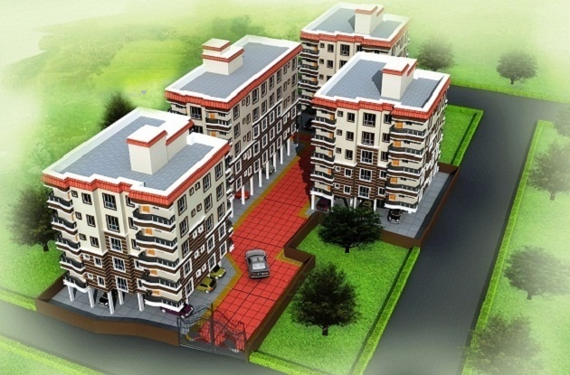 763 sqft, 2 bhk Apartment in Maa Vaishno Construction Regent Tower Airport, Kolkata at Rs. 25.5605 Lacs