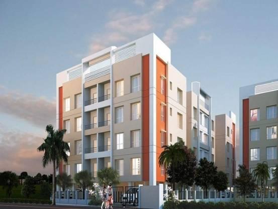 1141 sqft, 2 bhk Apartment in Gurukul Grande New Town, Kolkata at Rs. 46.0000 Lacs