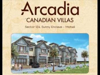 945 sqft, 3 bhk Villa in Builder Arcadia Canadian villas Sector 124 Mohali, Mohali at Rs. 43.0000 Lacs