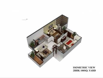 900 sqft, 2 bhk Apartment in Builder rich home crest Chandigarh Ludhiana State Highway, Mohali at Rs. 21.9000 Lacs