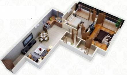 760 sqft, 2 bhk Apartment in Breez Global Hill View Sector 11 Sohna, Gurgaon at Rs. 21.5703 Lacs