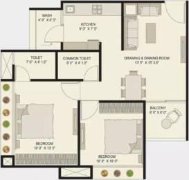 1089 sqft, 2 bhk Apartment in Shree Gayatri Satyamev Alice Hills Ognaj, Ahmedabad at Rs. 31.0000 Lacs