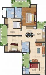 1595 sqft, 3 bhk Apartment in Ajnara LeGarden Sector 16 Noida Extension, Greater Noida at Rs. 55.6600 Lacs