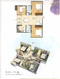 917 sqft, 3 bhk Apartment in Bony Dreams Sanganer, Jaipur at Rs. 25.0000 Lacs