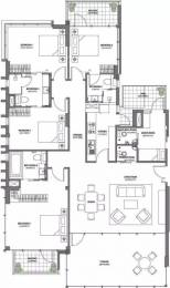 3100 sqft, 4 bhk Apartment in M3M Merlin Sector 67, Gurgaon at Rs. 55000