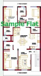 1800 sqft, 3 bhk Apartment in Builder basant homes Sector 117 Mohali, Mohali at Rs. 42.9000 Lacs