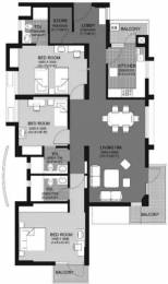1936 sqft, 3 bhk Apartment in Unitech Escape Sector 50, Gurgaon at Rs. 38000