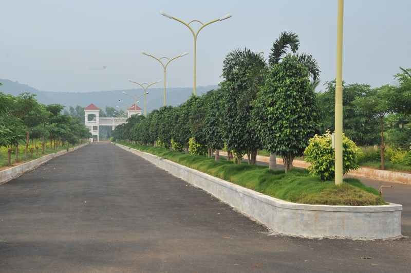 1503 sqft, Plot in Chilukuri Brundavan Estates Kapuluppada, Visakhapatnam at Rs. 30.0600 Lacs