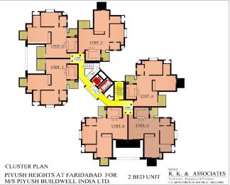 1576 sqft, 3 bhk Apartment in Piyush Heights Sector 89, Faridabad at Rs. 42.0000 Lacs