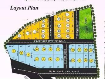 1350 sqft, Plot in Builder Project Bhongir, Hyderabad at Rs. 8.0000 Lacs