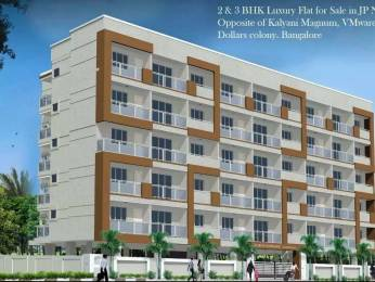 1296 sqft, 2 bhk Apartment in Builder R MOUNTROSE APARTMENT JP Nagar Phase 5, Bangalore at Rs. 71.0000 Lacs
