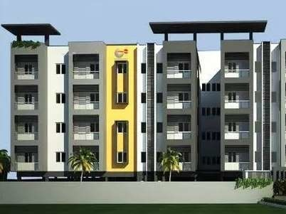 989 sqft, 2 bhk Apartment in Urban Tree Atrium Perungudi, Chennai at Rs. 82.0000 Lacs