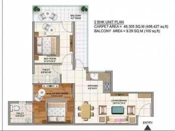 498 sqft, 2 bhk Apartment in Builder terra lavinium Sector 75, Faridabad at Rs. 20.4400 Lacs