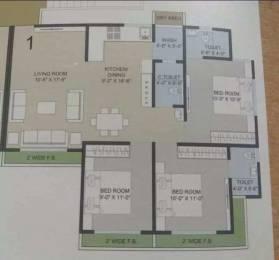 1450 sqft, 3 bhk Apartment in Builder New Booking Adajan, Surat at Rs. 50.0000 Lacs