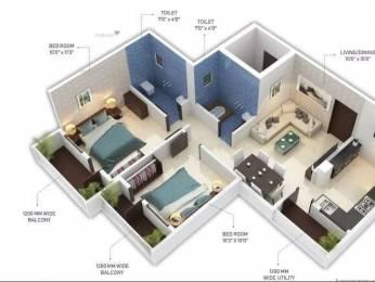 980 sqft, 2 bhk Apartment in Satyam Rose Godhni, Nagpur at Rs. 29.5000 Lacs