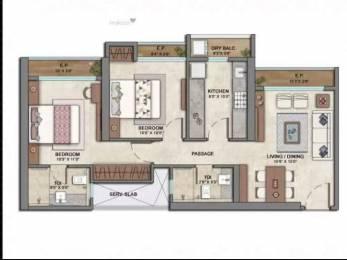 655 sqft, 2 bhk Apartment in Builder Ashar codename Golden Mile vasant vihar thane west, Mumbai at Rs. 1.4500 Cr