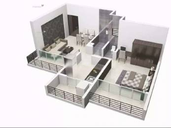 763 sqft, 1 bhk Apartment in Aasha Infratech Hill Springs Residency Bhiwandi, Mumbai at Rs. 26.6974 Lacs