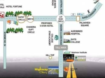 7500 sqft, Plot in Builder Highway dream City Ujjain Indore Road, Indore at Rs. 1.6500 Cr