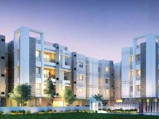 1074 sqft, 3 bhk Apartment in Noble Trexim Pearl Tollygunge, Kolkata at Rs. 39.7380 Lacs
