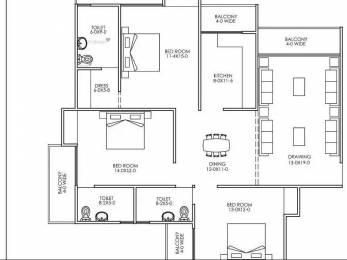 1475 sqft, 3 bhk Apartment in Builder Dwarka Heights Cooperative Housing Ltd Sector 24 Dwarka, Delhi at Rs. 64.9000 Lacs