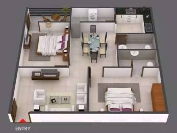 1131 sqft, 2 bhk Apartment in Builder Project B N reddy nagar, Hyderabad at Rs. 39.1920 Lacs