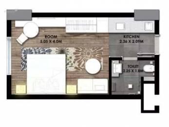 600 sqft, 1 bhk Apartment in AIPL Joy Square Sector 63, Gurgaon at Rs. 45.0000 Lacs