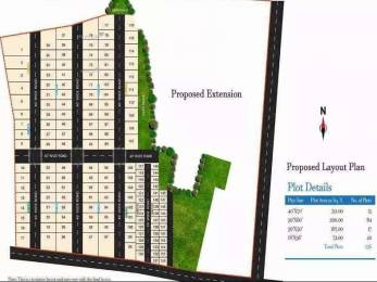 1800 sqft, Plot in Swathi Lucky Township Anandapuram, Visakhapatnam at Rs. 28.0000 Lacs