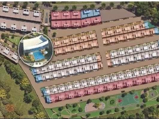 1225 sqft, 3 bhk Villa in Builder Project Hoshangabad Road, Bhopal at Rs. 43.0000 Lacs
