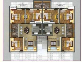 1350 sqft, 3 bhk Apartment in Builder AVR Buildtech AVR Aspen Homes Sector 124 Mohali Mohali Sector 124 Mohali, Mohali at Rs. 34.0000 Lacs