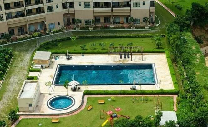 1666 sqft, 2 bhk Apartment in Central Park Belgravia Resort Residences 1 Sector 48, Gurgaon at Rs. 62000