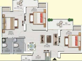 1095 sqft, 3 bhk Apartment in Shri Radha Sky Park Sky Garden Phase 2 Sector 16B Noida Extension, Greater Noida at Rs. 40.0000 Lacs