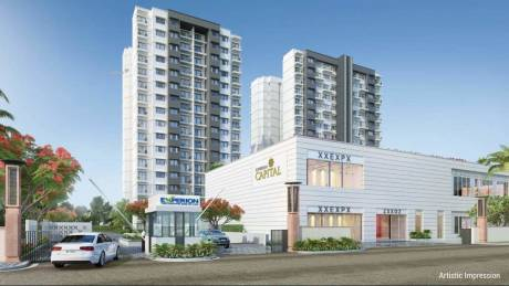 1415 sqft, 2 bhk Apartment in Experion Capital Gomti Nagar, Lucknow at Rs. 81.3625 Lacs
