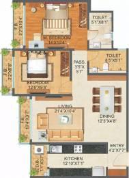 1280 sqft, 2 bhk Apartment in Sonam Indraprasth Mira Road East, Mumbai at Rs. 1.2500 Cr