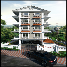 775 sqft, 1 bhk Apartment in Rio Luxury Homes Casa Rio Siolim, Goa at Rs. 50.4000 Lacs