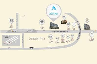 298 sqft, 1 bhk Apartment in Builder sushma group Main Zirakpur Road, Chandigarh at Rs. 22.3351 Lacs