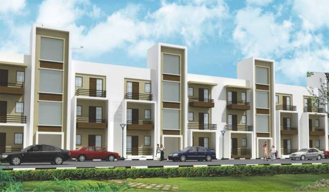 757 sqft, 2 bhk BuilderFloor in Ubber Golden Palm Apartments Focal Point, Dera Bassi at Rs. 16.8745 Lacs