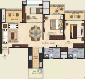 1400 sqft, 2 bhk Apartment in Mahagun Mirabella Sector 79, Noida at Rs. 91.0000 Lacs